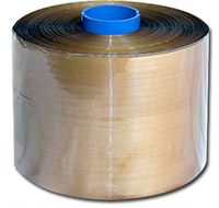 Self adhesive tear tape: gold